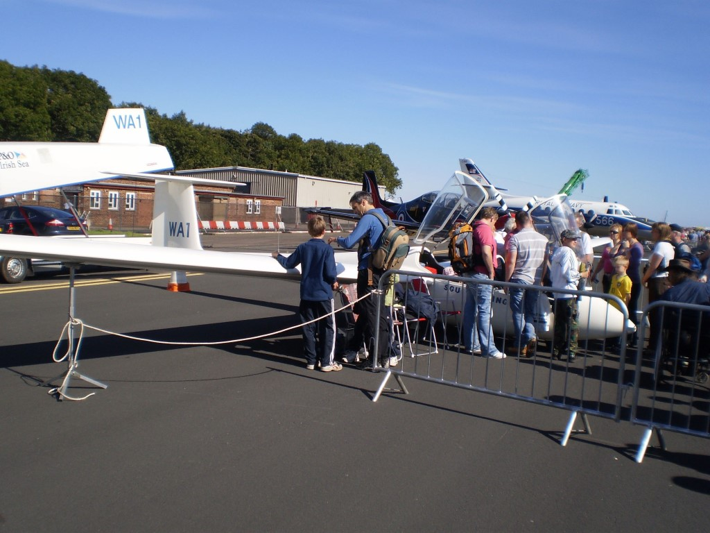 WA1 at Leuchars Airshow (2009)